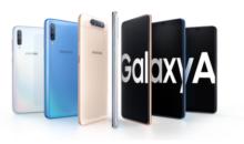 Les Galaxy A20e, A40 et A80 rejoignent la gamme Samsung