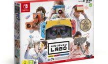 Vous pouvez, désormais, vous essayer à la réalité virtuelle, sur Switch !