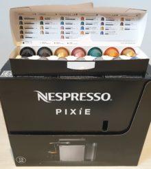 [Concours] Nous vous offrons une Nespresso Pixie et ses dosettes !