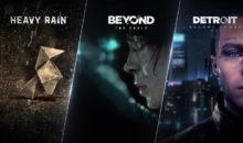 Trois chef-d'oeuvre de Quantic Dream débarquent sur PC