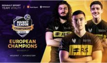 Renault Sport Team Vitality championne d'Europe sur Rocket League