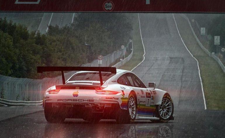 La pluie dans Gran Turismo
