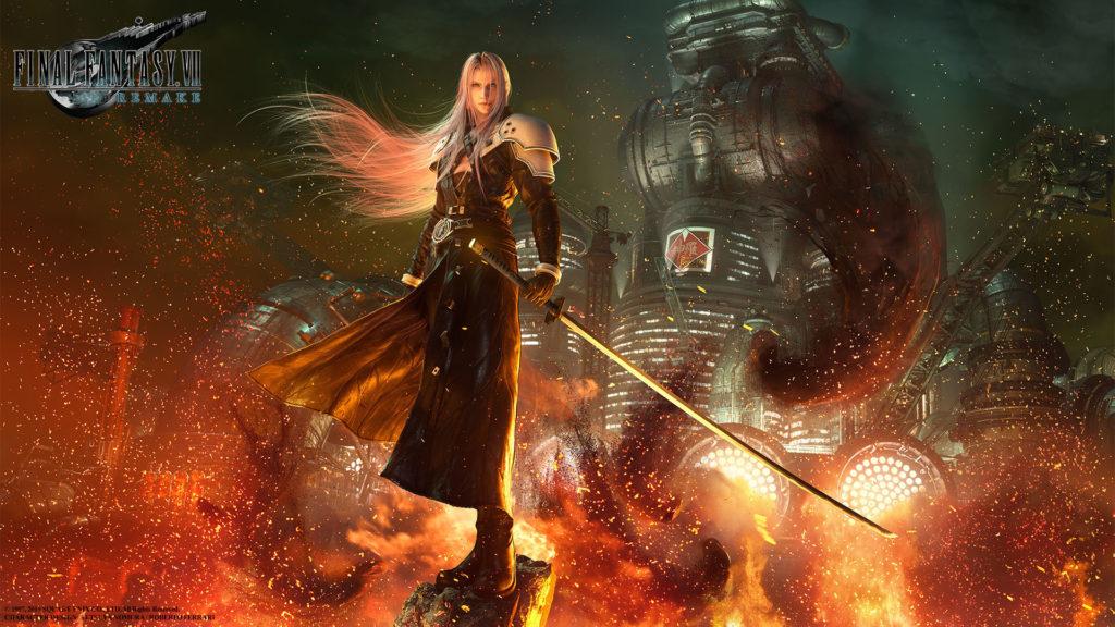 Sephiroth dans Final Fantasy VII Remake