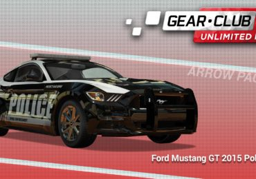 Gear Club Unlimted 2 Ford Mustang police