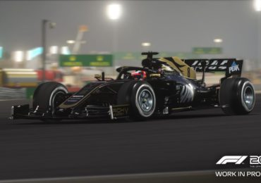 Haas F1 2019 nuit