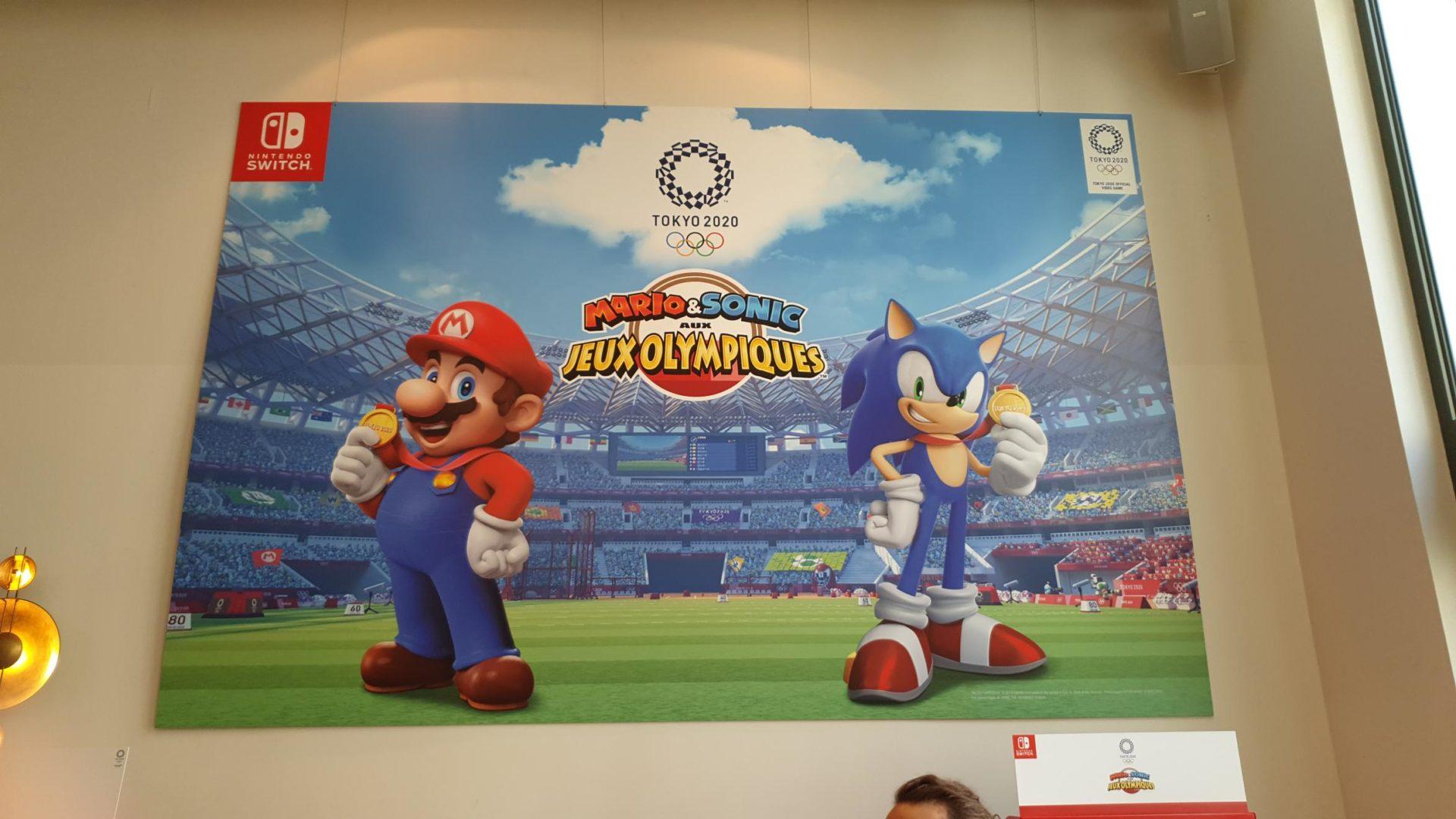 Prise En Main En Vidéo De Mario Et Sonic Aux J O 2020 Le