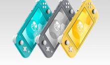 La Nintendo Switch Lite annoncée ! Une console nomade exclusivement – màj