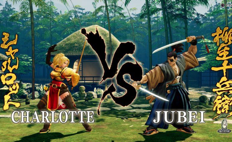 Samurai Shodown : image tirée d'un combat du jeu
