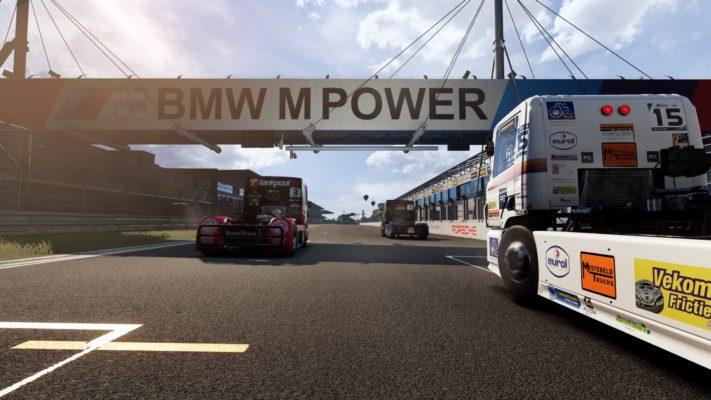 Le jeu de camions FIA European Truck Racing Championship