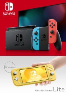 Nintendo Switch Lite et Switch Classique, le duel
