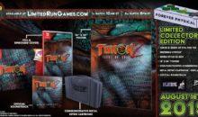 Turok sur Switch, un coffret physique et limité