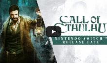 Call of Cthulhu : enquête sur fond d'horreur, sous peu sur Switch