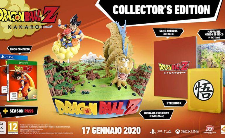 dbz kakarot collector