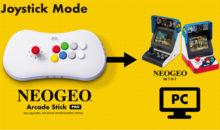 Une nouvelle console Neo-Geo cachée…dans un stick arcade !