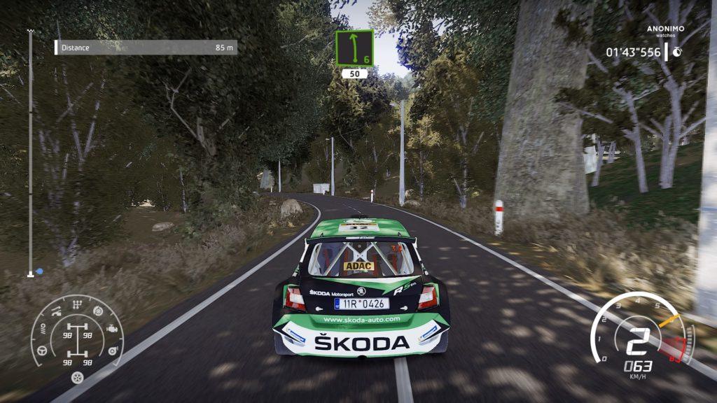 WRC 8 sur PS4