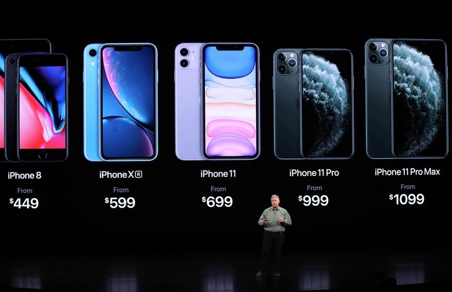 iphone 11 prix gamme