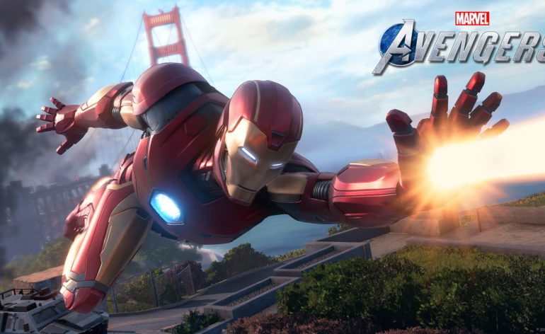 Marvels Avengers : Ironman en action