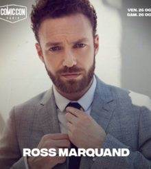 Ross Marquand de The Walking Dead sur le Comic Con de Paris