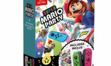 Switch : un bundle inédit Super Mario Party Joy-con vert et rose