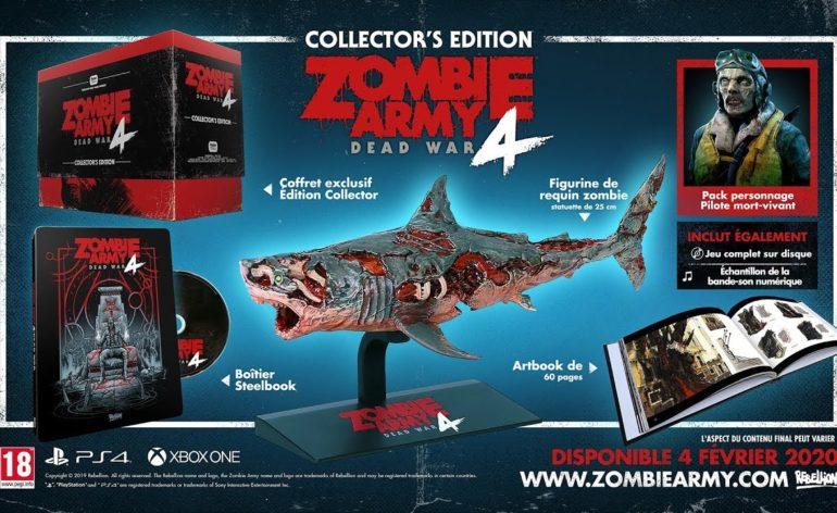 Zombie Army 4 un collector sharknadoesque !