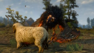 the witcher 3 griffon