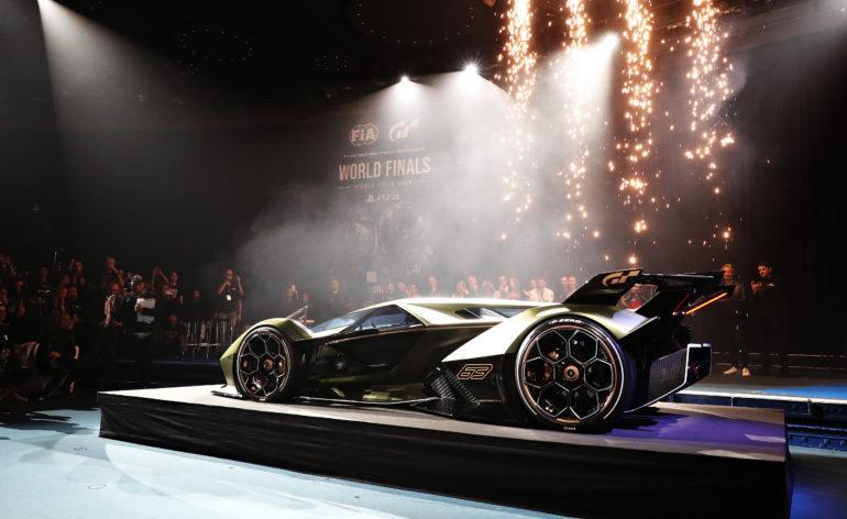 La Lamborghini Lambo V12 Vision Gran Turismo