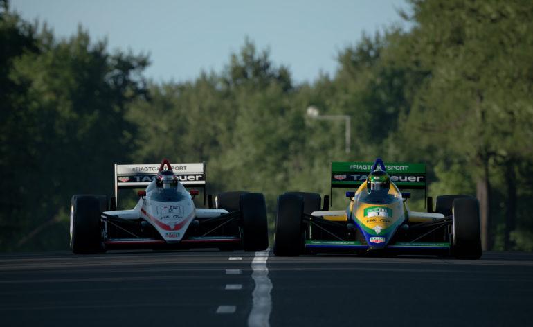 Deux Formule 1 anciennes dans Gran Turismo