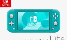 La Nintendo Switch Lite Turquoise (uniquement) dispo sur Amazon
