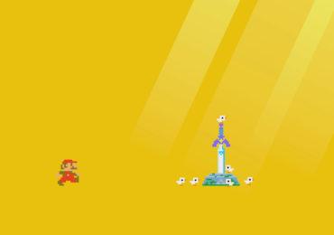 Link de Zelda dans Mario Majer 2