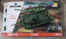 World of Tanks : du jeu vidéo aux briques à construire avec Cobi !