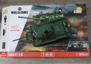 World of Tanks du jeu vidéo aux briques à construire avec Cobi !