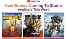 Google Stadia réceptionne 3 nouveaux jeux