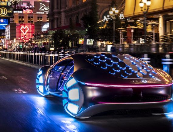 Mercedes Vision AVTR pour Avatar