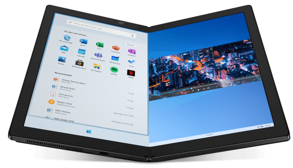 lenovo pc pliable