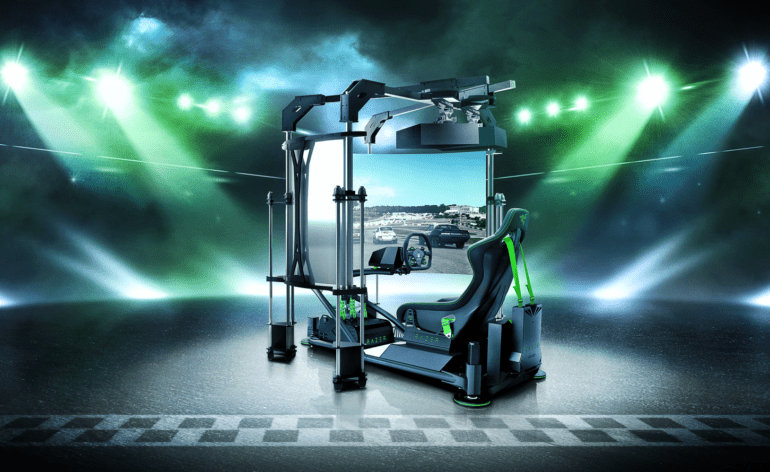 Le Razer Ultimate Eracing Simulator