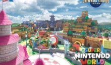 Le parc d'attraction Super Nintendo World dévoile sa carte (vue de dessus)