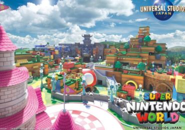 Super Nintendo World : une affiche de promotion