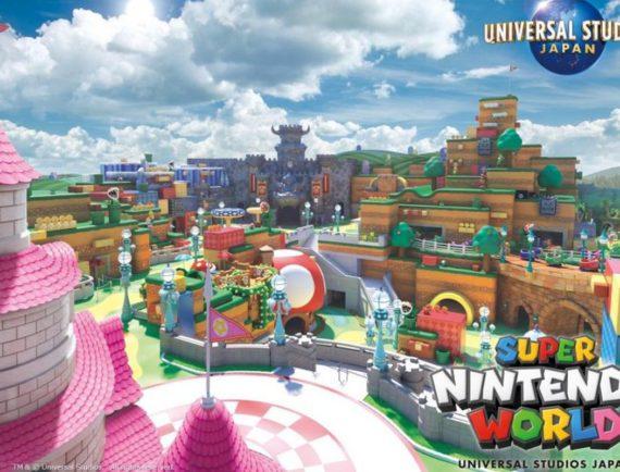 Super Nintendo World : une affiche de promotion