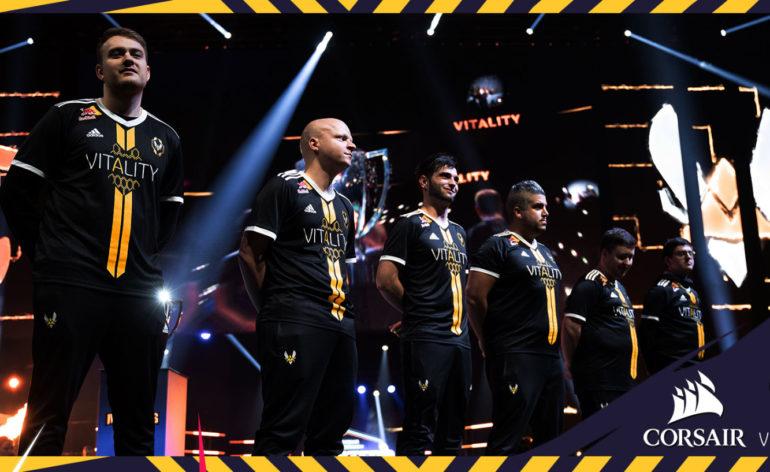 Team Vitality : des joueurs de l'équipe lors d'une compétition