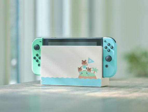Nintendo Switch : la base de la console édition Animals Crossing