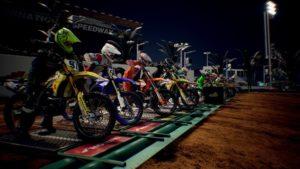 Supercross 3 : le départ d'une course