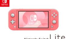 Une Nintendo Switch Lite rose est annoncée !