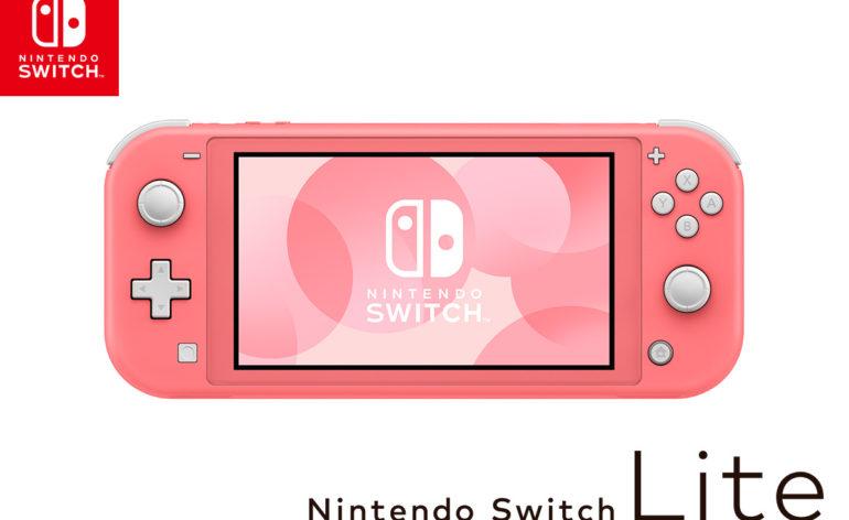 Switch Lite rose