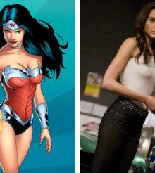 Gal Gadot prête sa tenue de Wonder Woman aux soignants