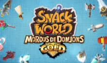 Snack World : Mordus de Donjons Gold sur Switch, du rire en loot