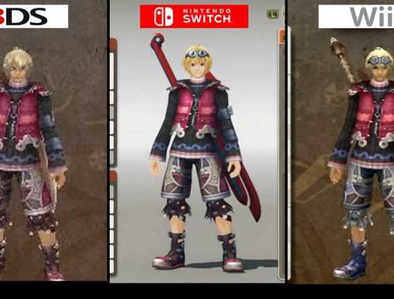 Xenoblade chronicles switch vs wii, vs 3ds