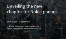 Suivez (ici) la conférence LIVE de Nokia, à 17H30