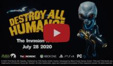 Finissons-en avec les humains grâce à Destroy All Humans Remake