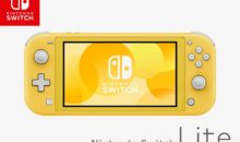 La Nintendo Switch Lite jaune en stock chez Amazon à tarif normal