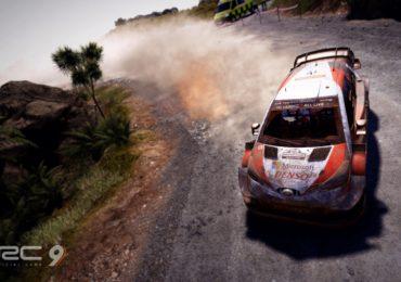 WRC 9 : Gameplay sur le rallye de Nouvelle-Zélande
